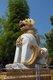 Thailand: Guardian lions (Singha or Chinthe) at the entrance to Wat Yang Kuang, Suriyawong Road, Chiang Mai, northern Thailand