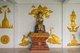 Thailand: Preaching Buddha figure with a representation of Rahu, Snake Demon and causer of solar and lunar eclipses, behind his head, Wat Yang Kuang, Suriyawong Road, Chiang Mai, northern Thailand