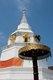 Thailand: The old chedi at Wat Yang Kuang after renovation, Suriyawong Road, Chiang Mai, northern Thailand